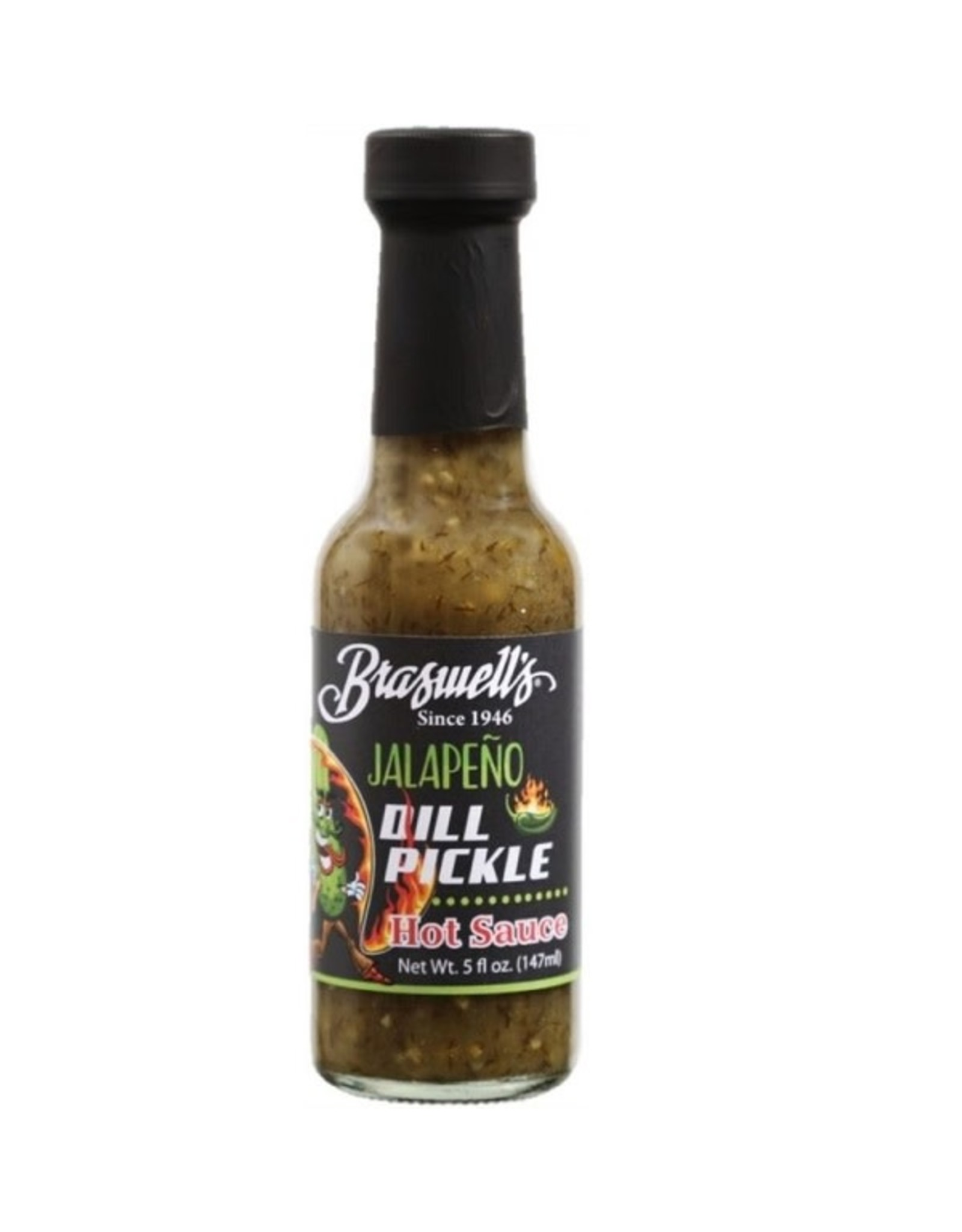 Braswell DILL PICKLE HOT SAUCE