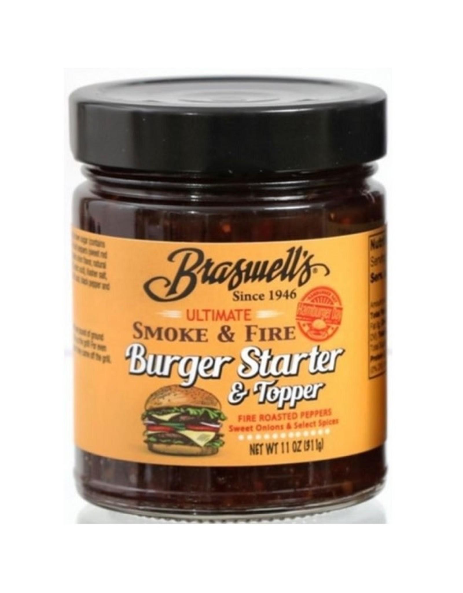 Braswell SMOKE & FIRE BURGER STARTER