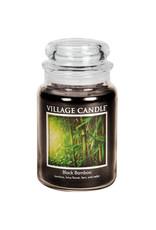 Village Candle BLACK BAMBOO JAR CANDLE