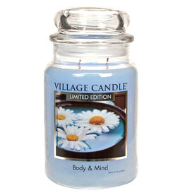 Village Candle BODY AND MIND LARGE JAR CANDLE