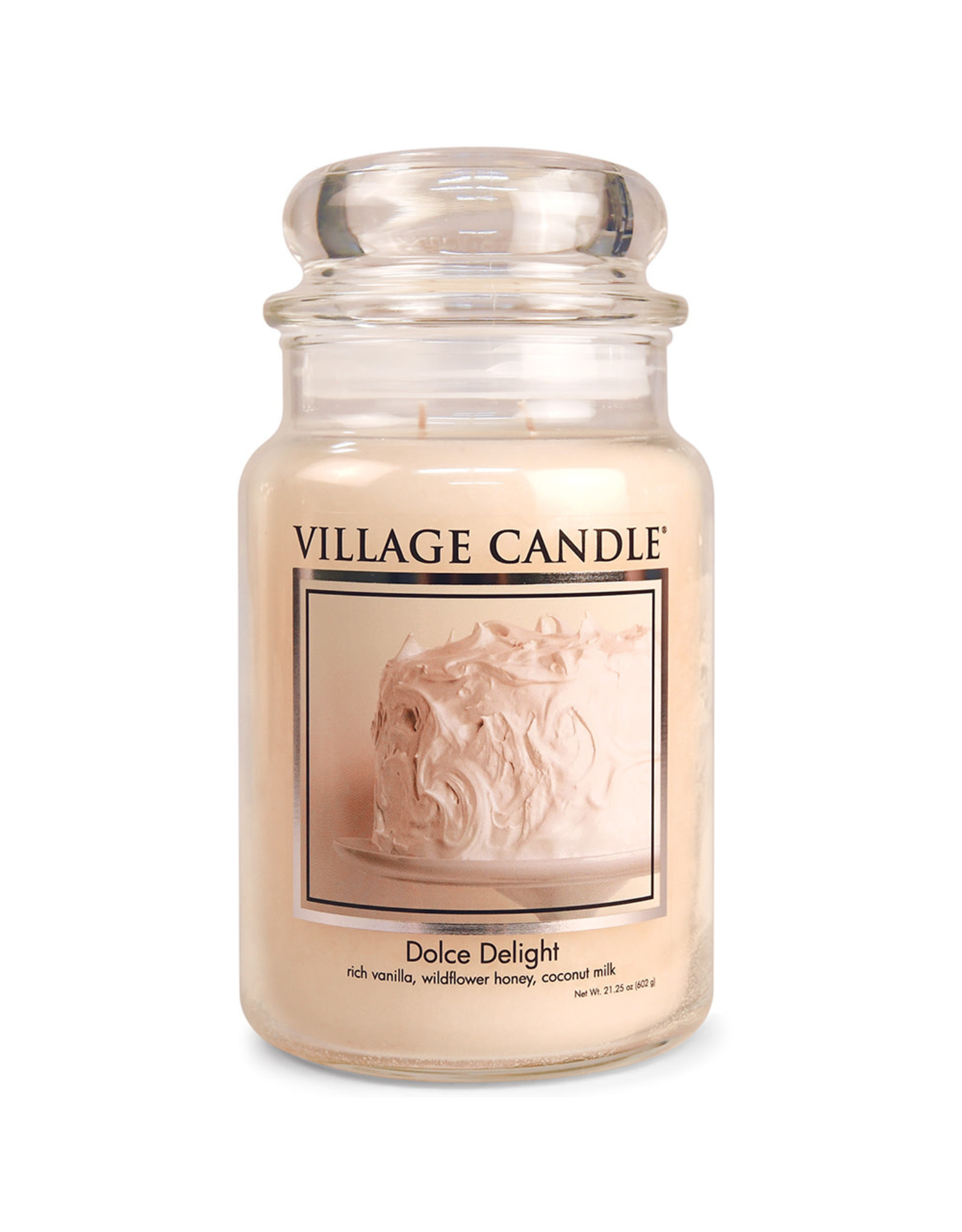 Stonewall Kitchen DOLCE DELIGHT JAR CANDLE
