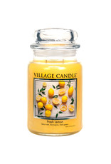 Village Candle FRESH LEMON JAR CANDLE