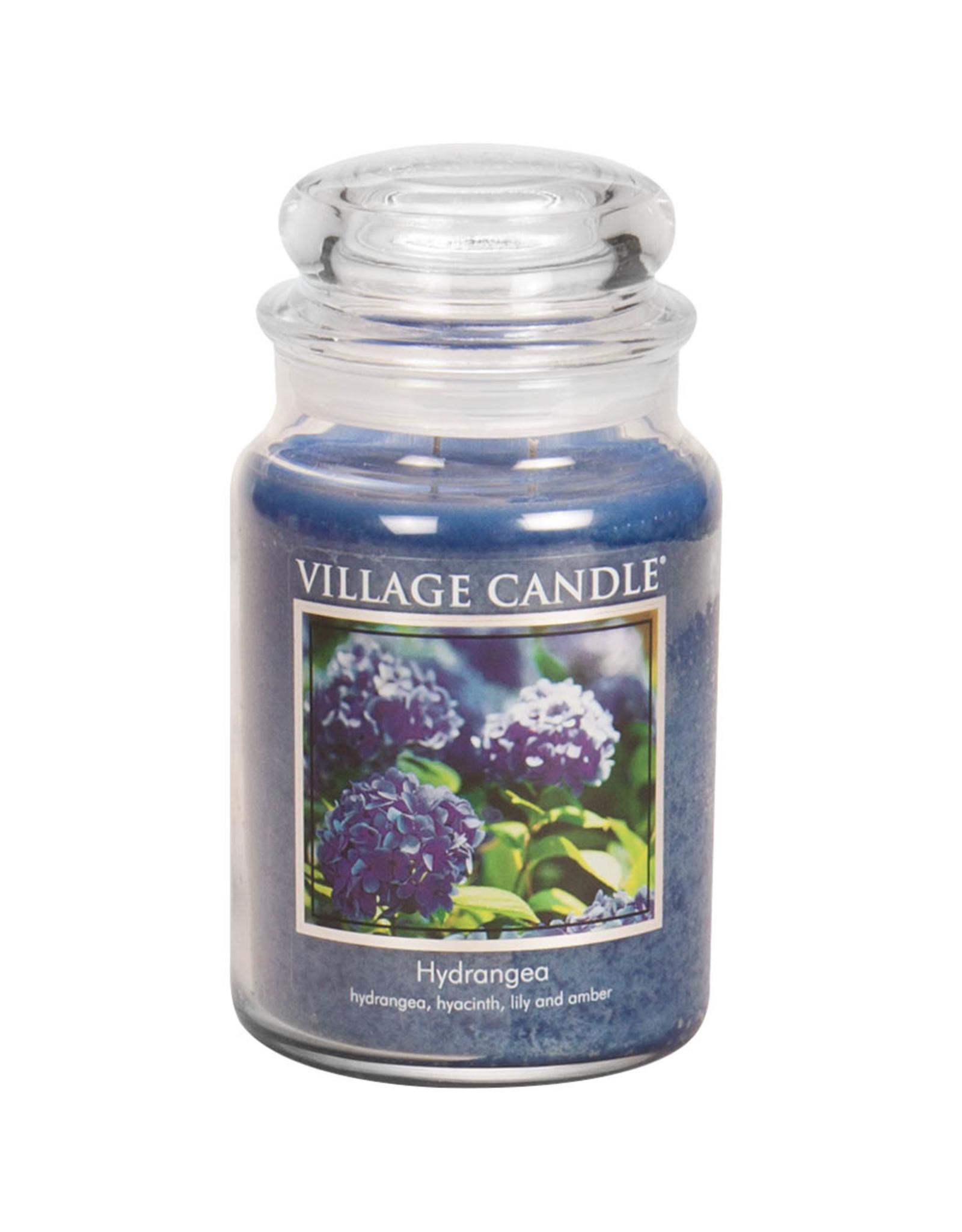 Village Candle HYDRANGEA JAR CANDLE