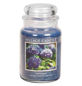 Village Candle HYDRANGEA JAR CANDLE