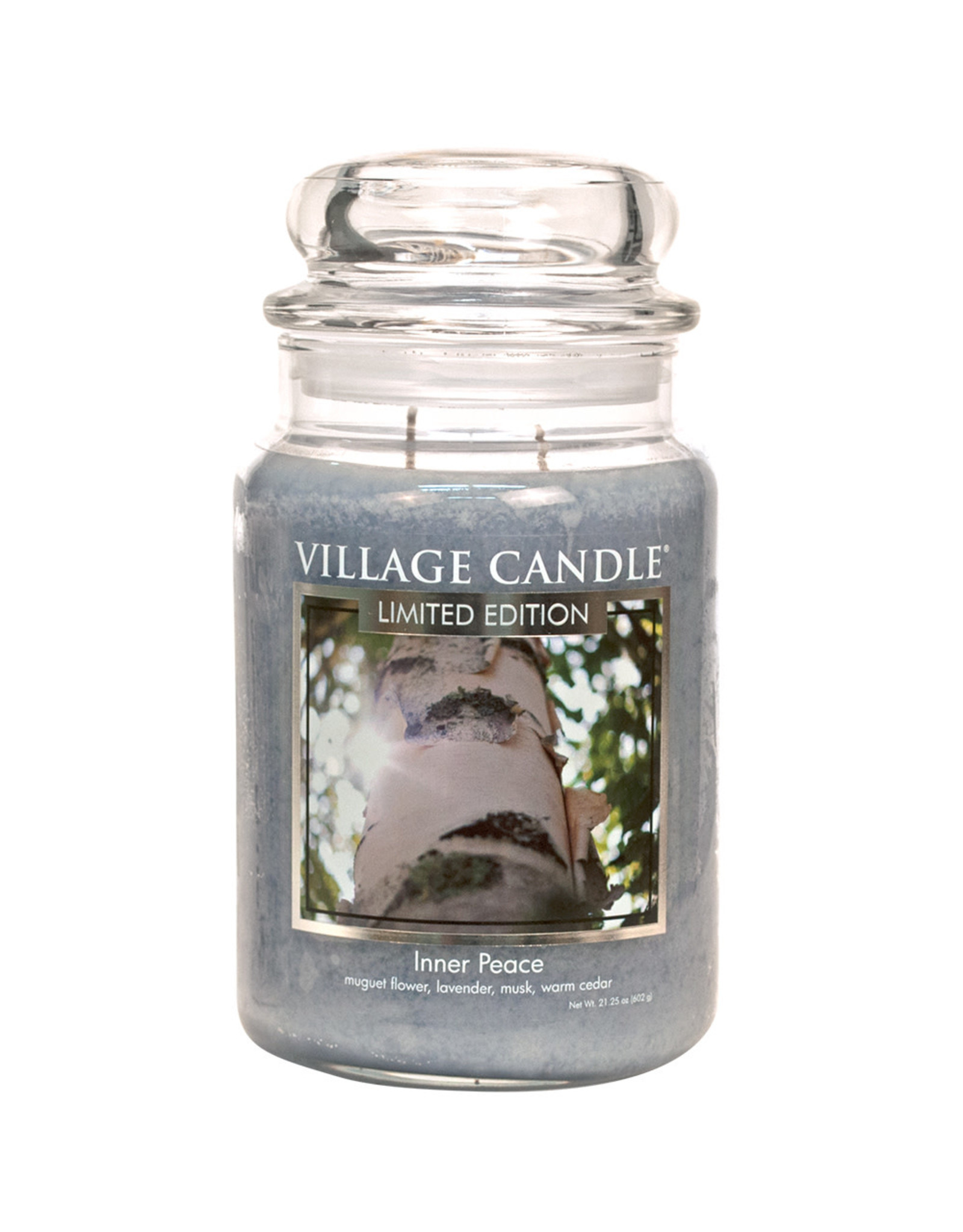 Village Candle INNER PEACE LARGE JAR CANDLE