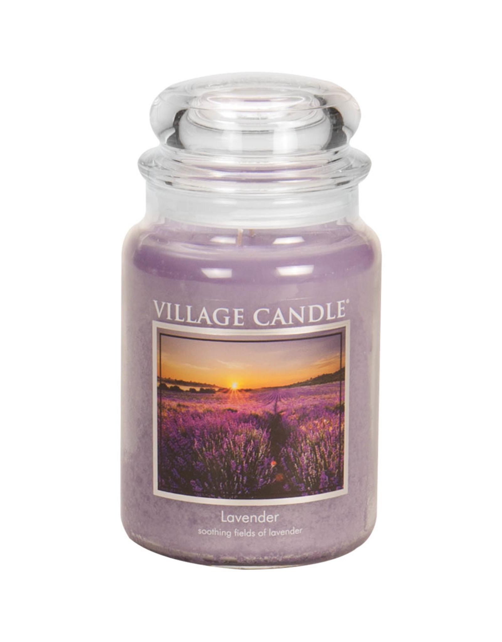 Village Candle LAVENDER JAR CANDLE