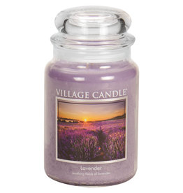 Village Candle LAVENDER JAR CANDLE
