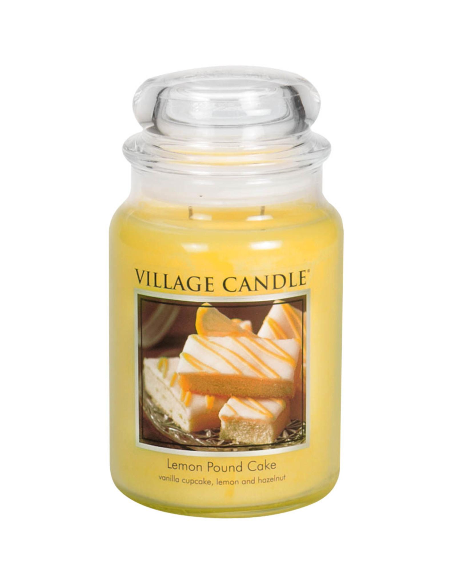Village Candle LEMON POUND CAKE JAR CANDLE