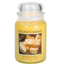 Village Candle LEMON POUND CAKE JAR CANDLE