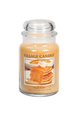 Village Candle MAPLE BUTTER JAR CANDLE