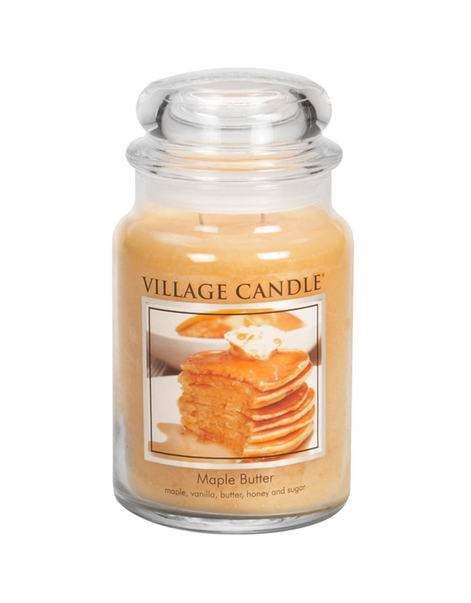 Stonewall Kitchen MAPLE BUTTER JAR CANDLE