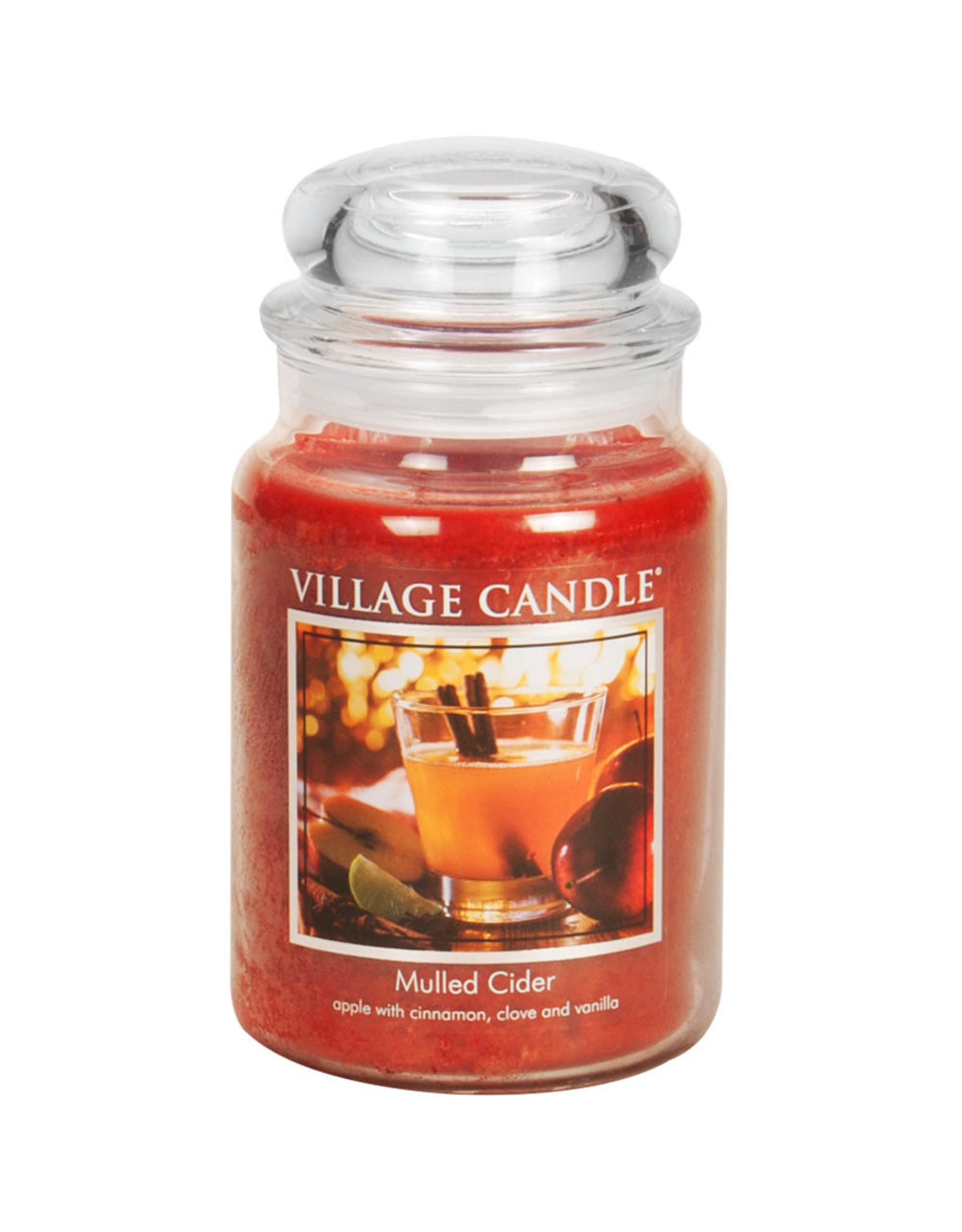 Village Candle MULLED CIDER JAR CANDLE