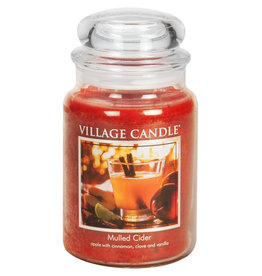 Village Candle MULLED CIDER JAR CANDLE