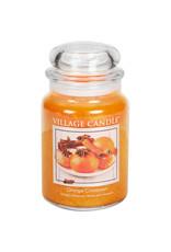 Village Candle ORANGE CINNAMON JAR CANDLE