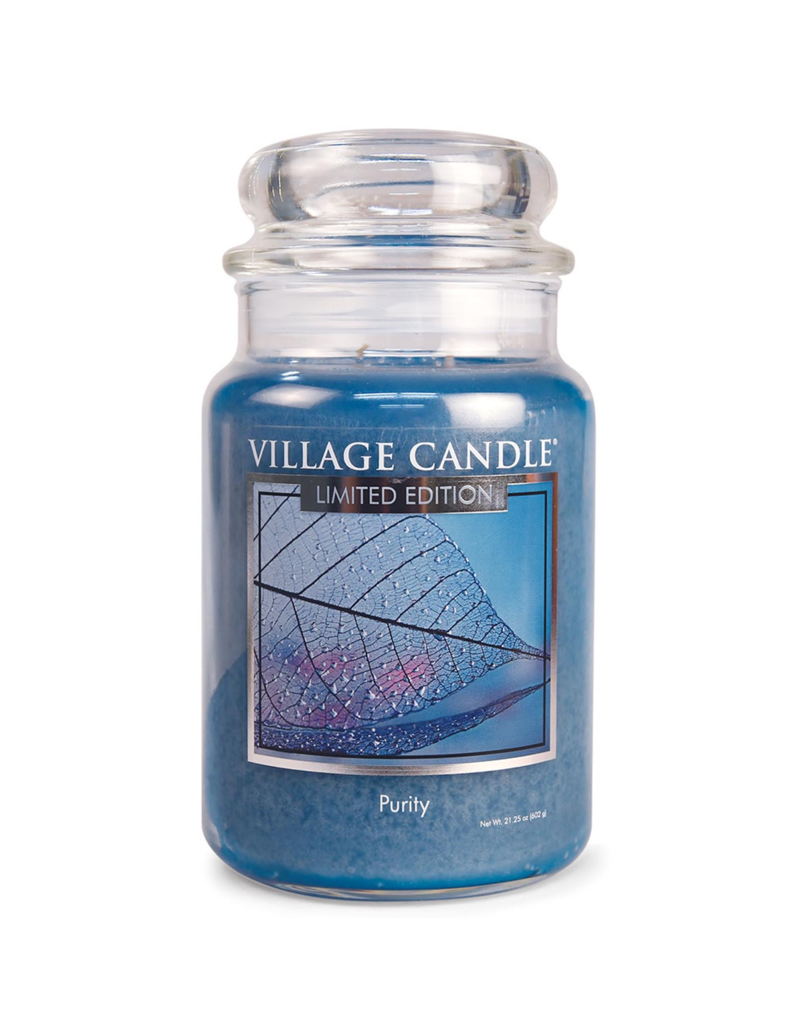 Village Candle PURITY LARGE JAR CANDLE
