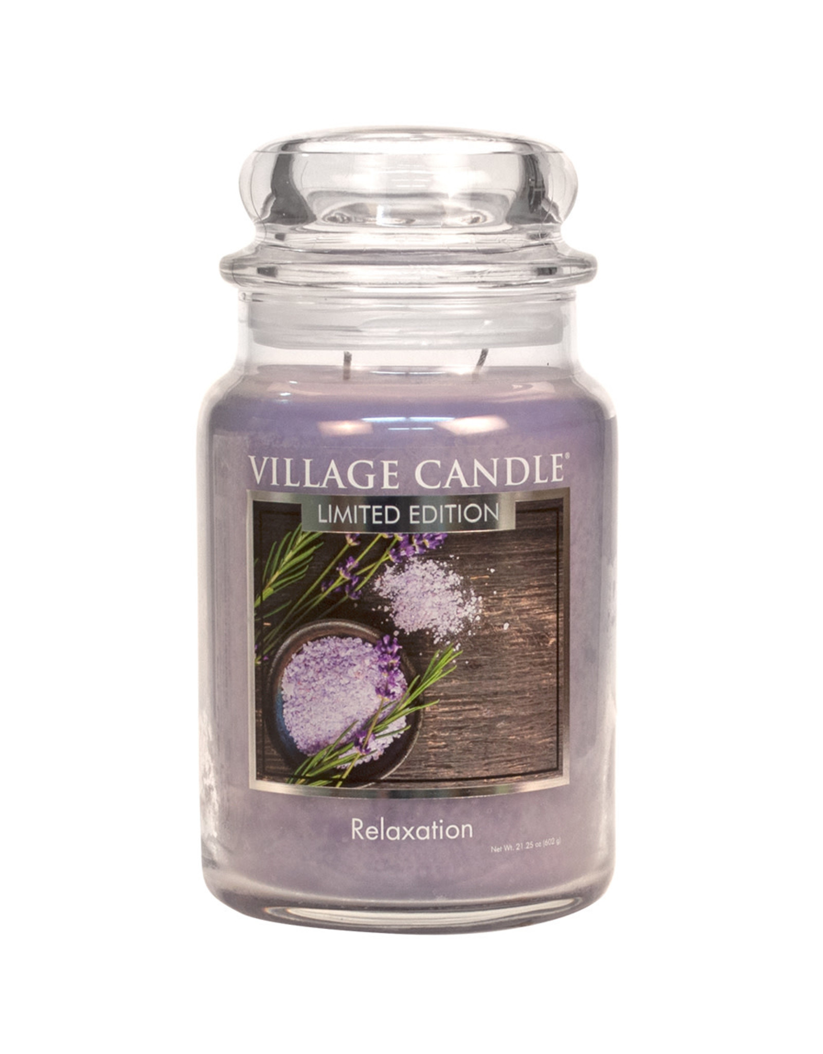 Village Candle RELAXATION LARGE JAR CANDLE