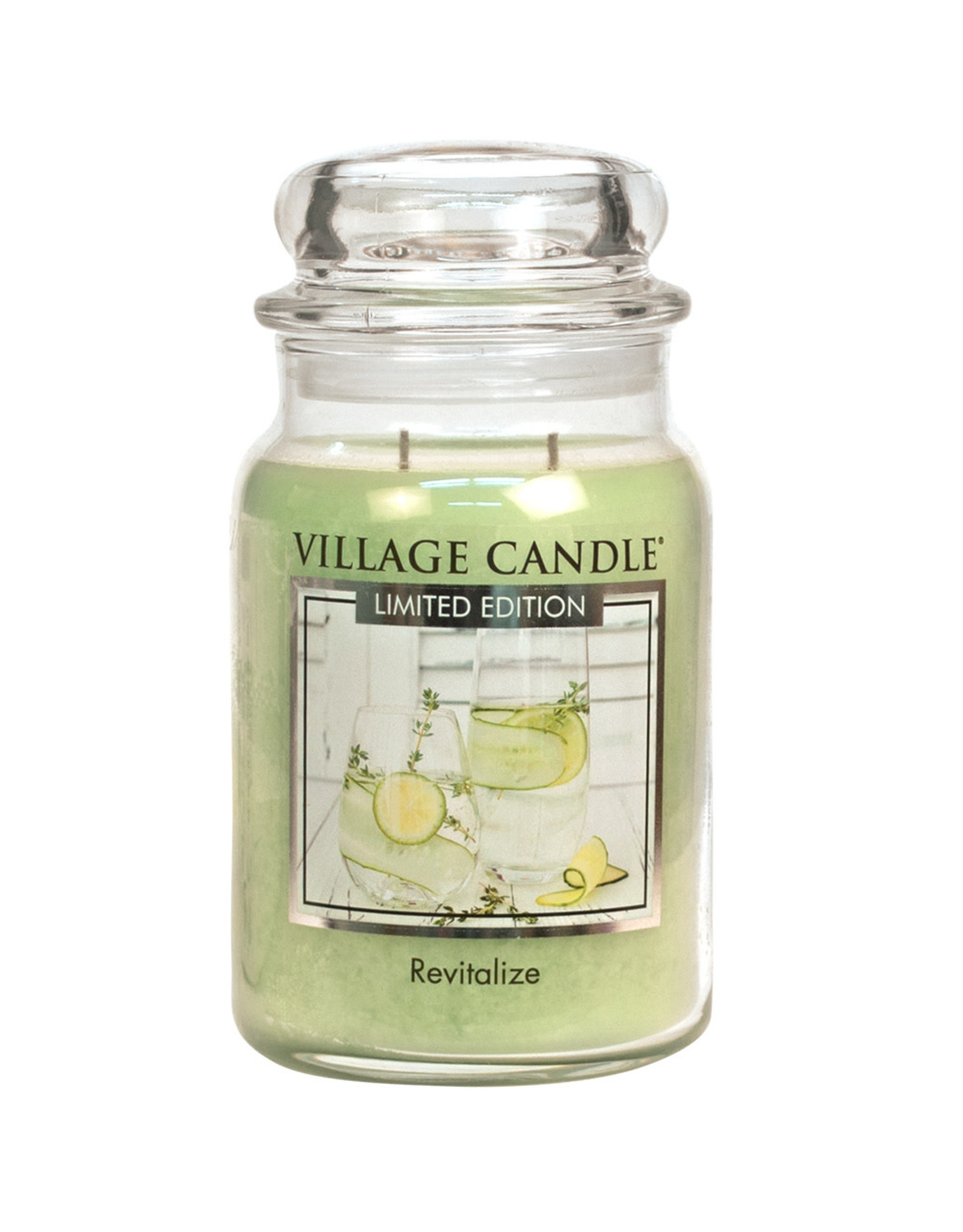 Village Candle REVITALIZE LARGE JAR CANDLE
