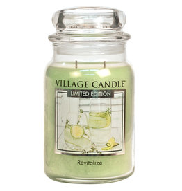 Village Candle REVITALIZE LARGE JAR CANDLE