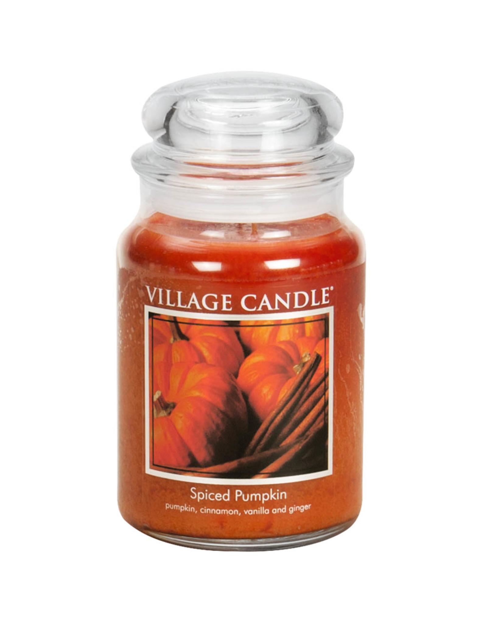 Village Candle SPICED PUMPKIN JAR CANDLE