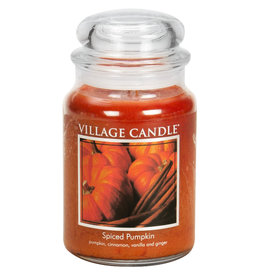 Village Candle SPICED PUMPKIN JAR CANDLE