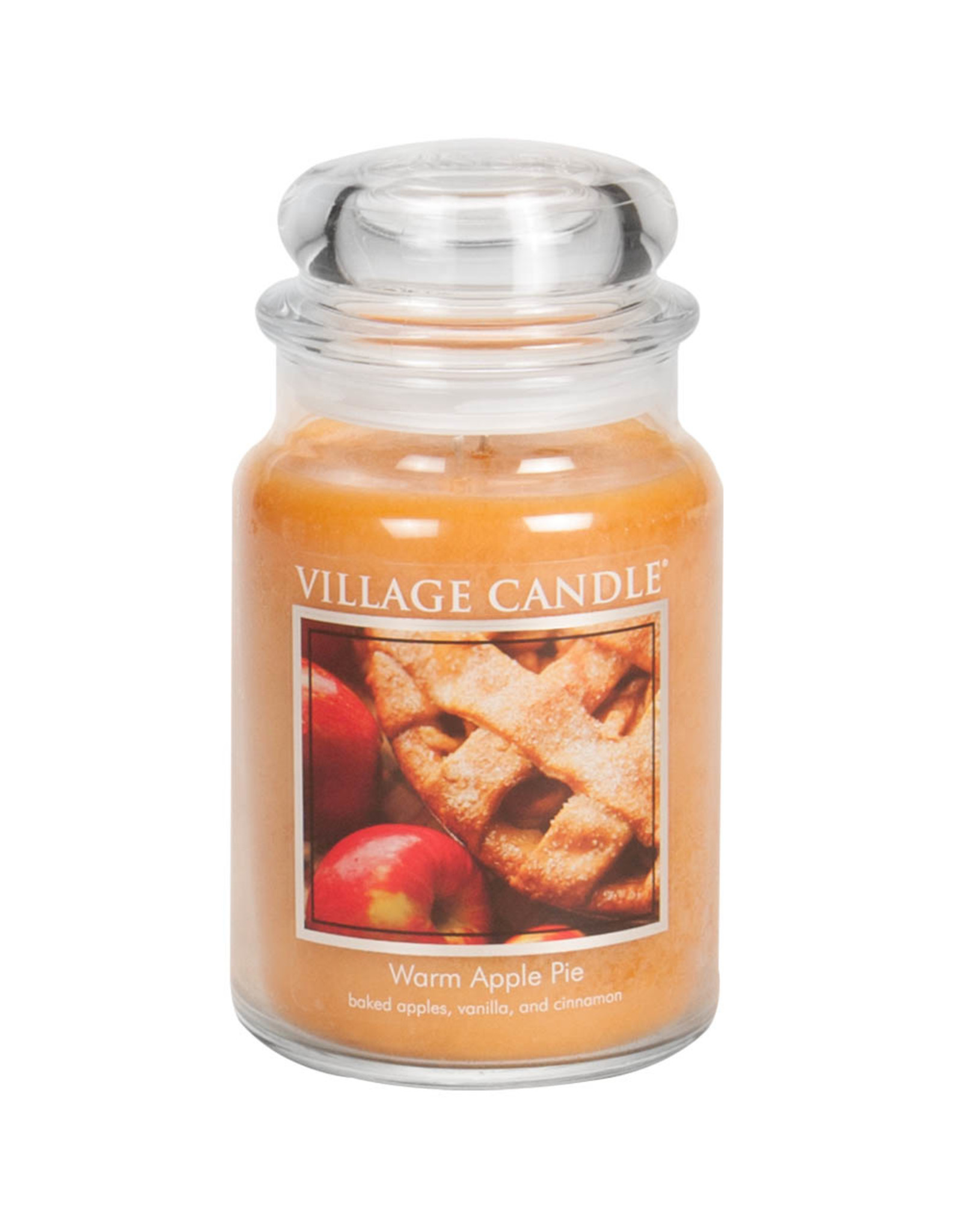 Village Candle WARM APPLE PIE JAR CANDLE