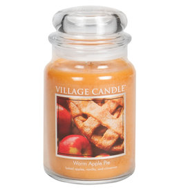 Village Candle WARM APPLE PIE JAR CANDLE