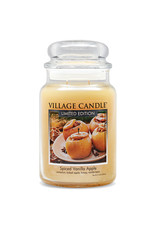 Village Candle SPICED VANILLA APPLE JAR CANDLE