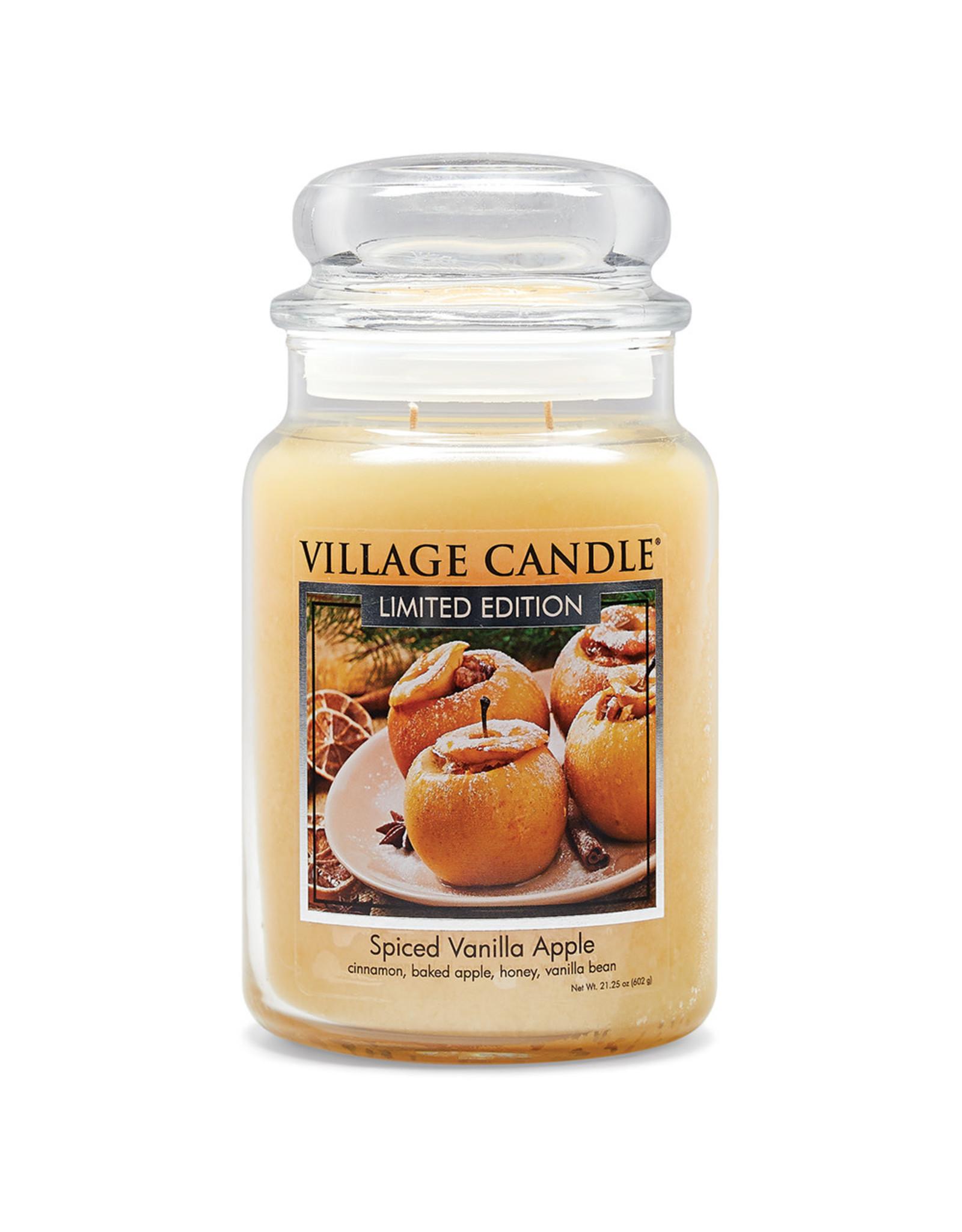 Stonewall Kitchen SPICED VANILLA APPLE JAR CANDLE