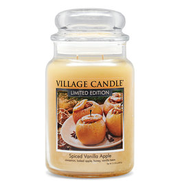 Stonewall Kitchen SPICED VANILLA APPLE JAR CANDLE