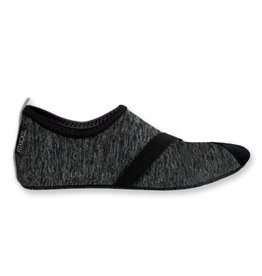DM Merchandising HEATHERED BLACK FITKICKS