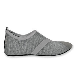 DM Merchandising HEATHERED GRAY FITKICKS