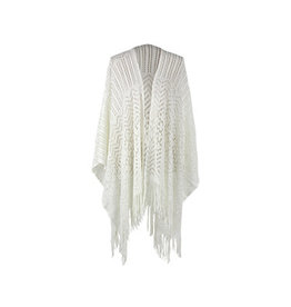 DM Merchandising RUANA OPEN WEAVE WRAP