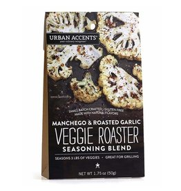Urban Accents MANCHEGO AND ROASTED GARLIC VEGGIE ROASTER