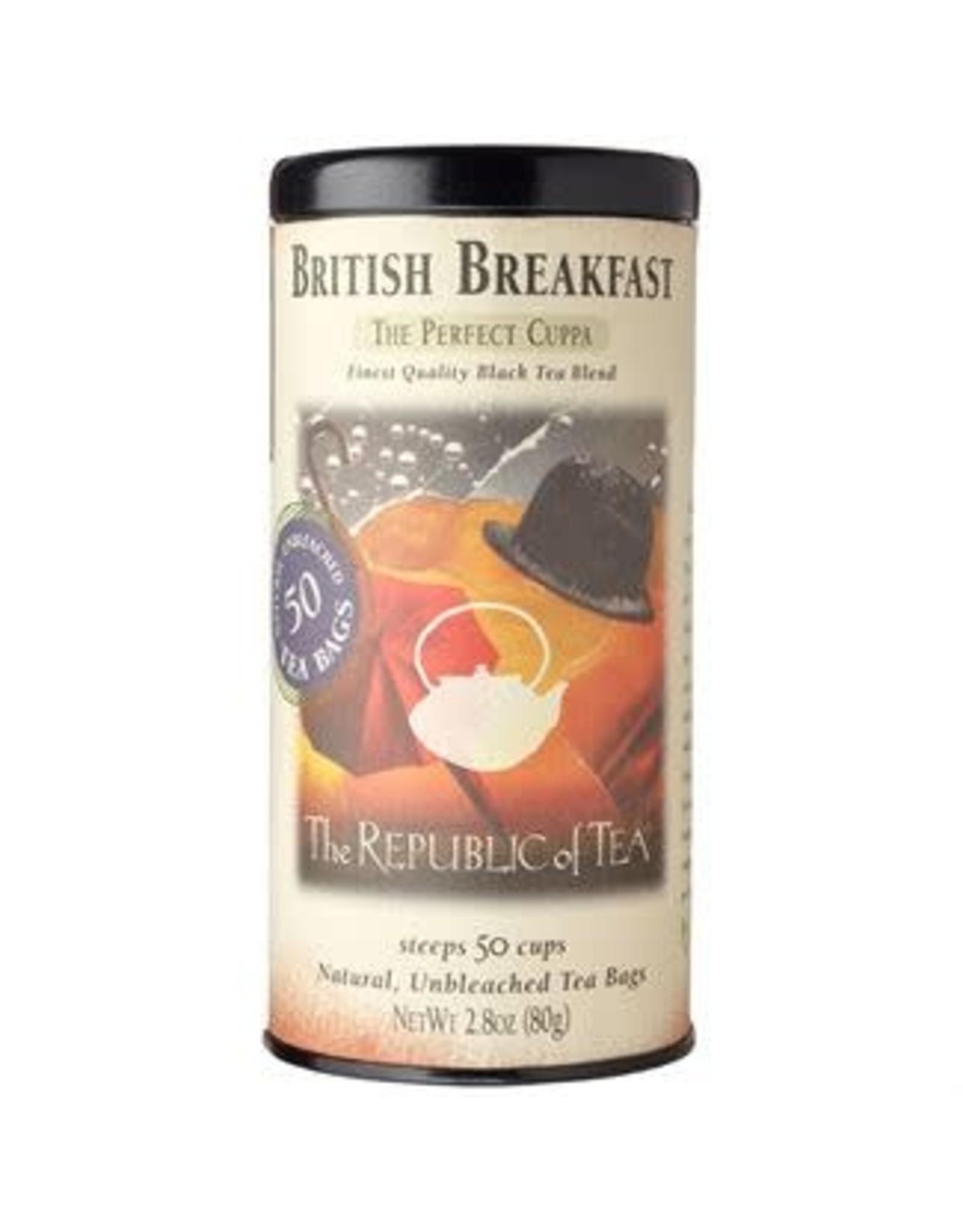Republic of Tea BRITISH BREAKFAST TEA