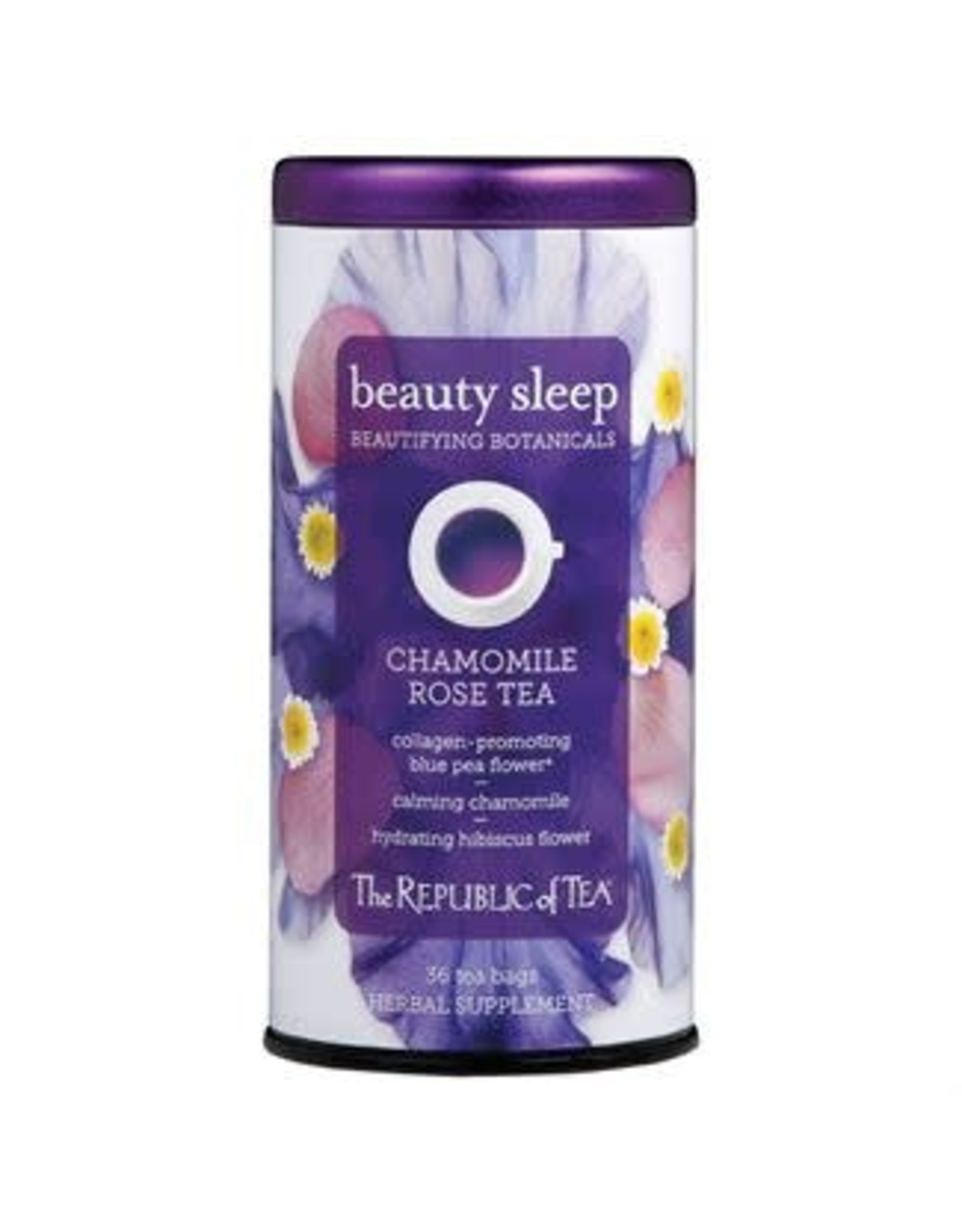 Republic of Tea BEAUTY SLEEP CHAMOMILE ROSE TEA