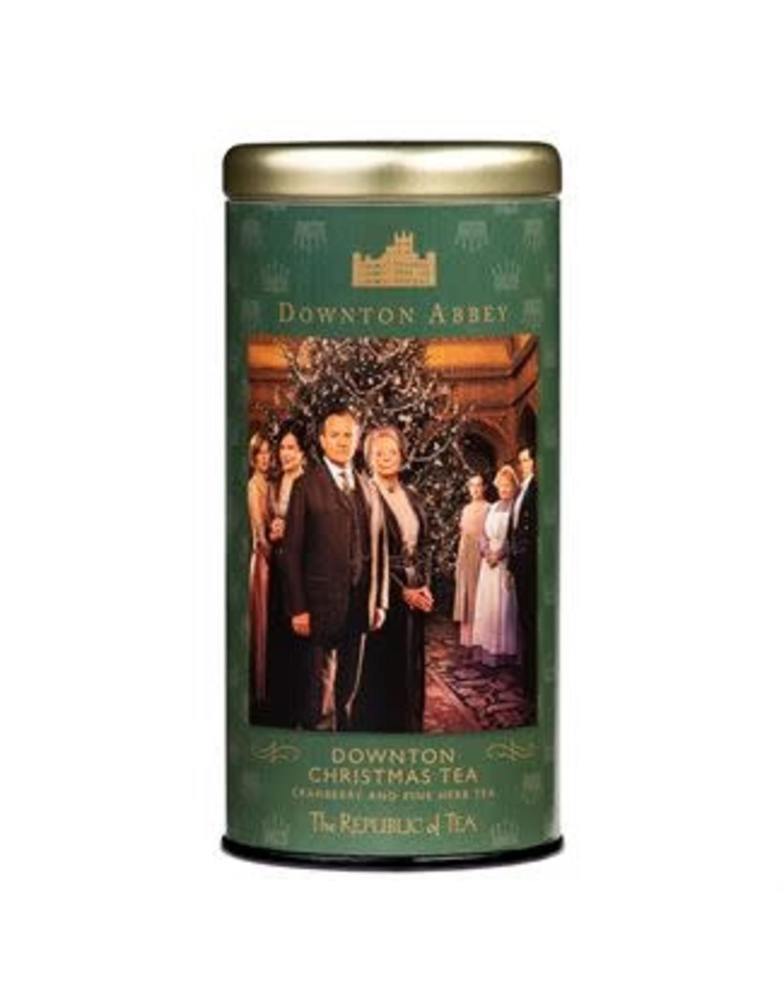 Republic of Tea DOWNTON ABBEY CHRISTMAS TEA