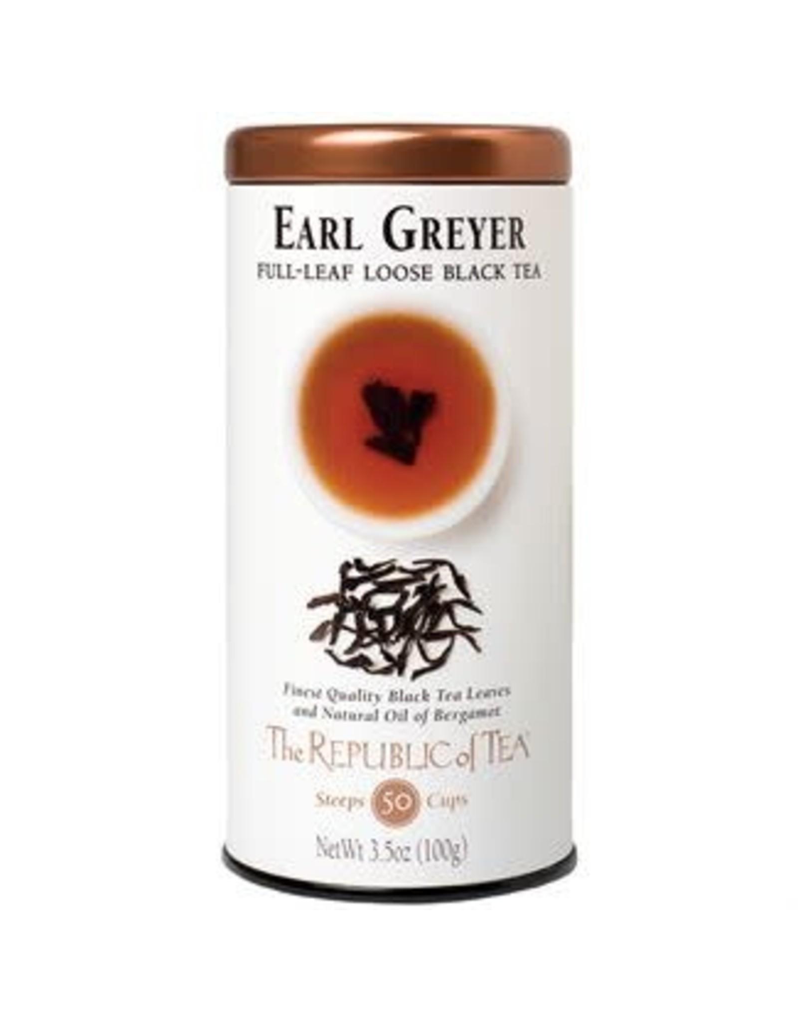 Republic of Tea EARL GREYER FULL LEAF TEA