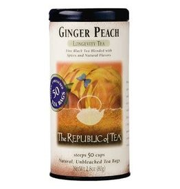 Republic of Tea GINGER PEACH TEA