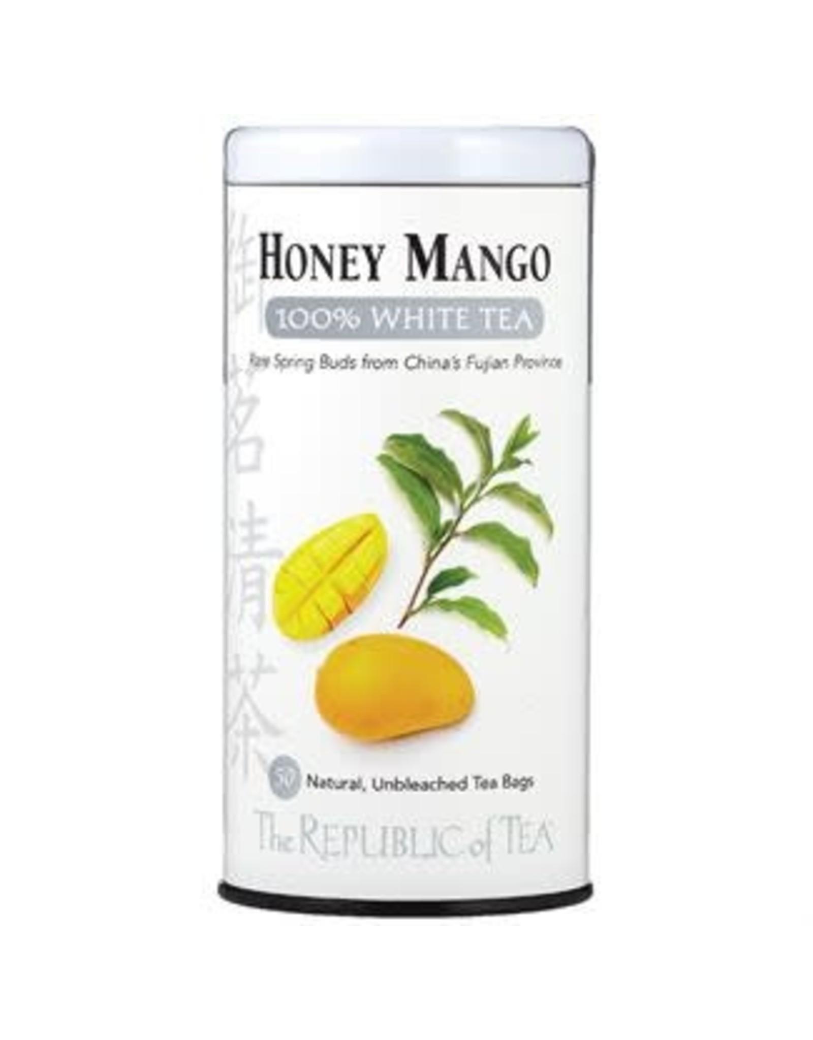 Republic of Tea HONEY MANGO WHITE TEA