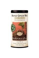 Republic of Tea ORANGE GINGER MINT TEA