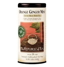 Republic of Tea ORANGE GINGER MINT TEA