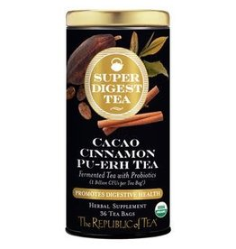 Republic of Tea ORGANIC COCAO CINNAMON PU-ERH TEA