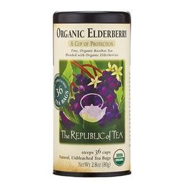 Republic of Tea ORGANIC ELDERBERRY RED TEA