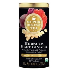Republic of Tea ORGANIC HIBISCUS BEET GINGER TEA