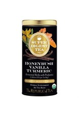 Republic of Tea ORGANIC HONEYBUSH VANILLA TURMERIC TEA