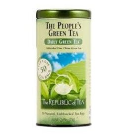 Republic of Tea THE PEOPLE'S GREE TEA