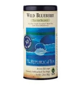 Republic of Tea WILD BLUEBERRY TEA