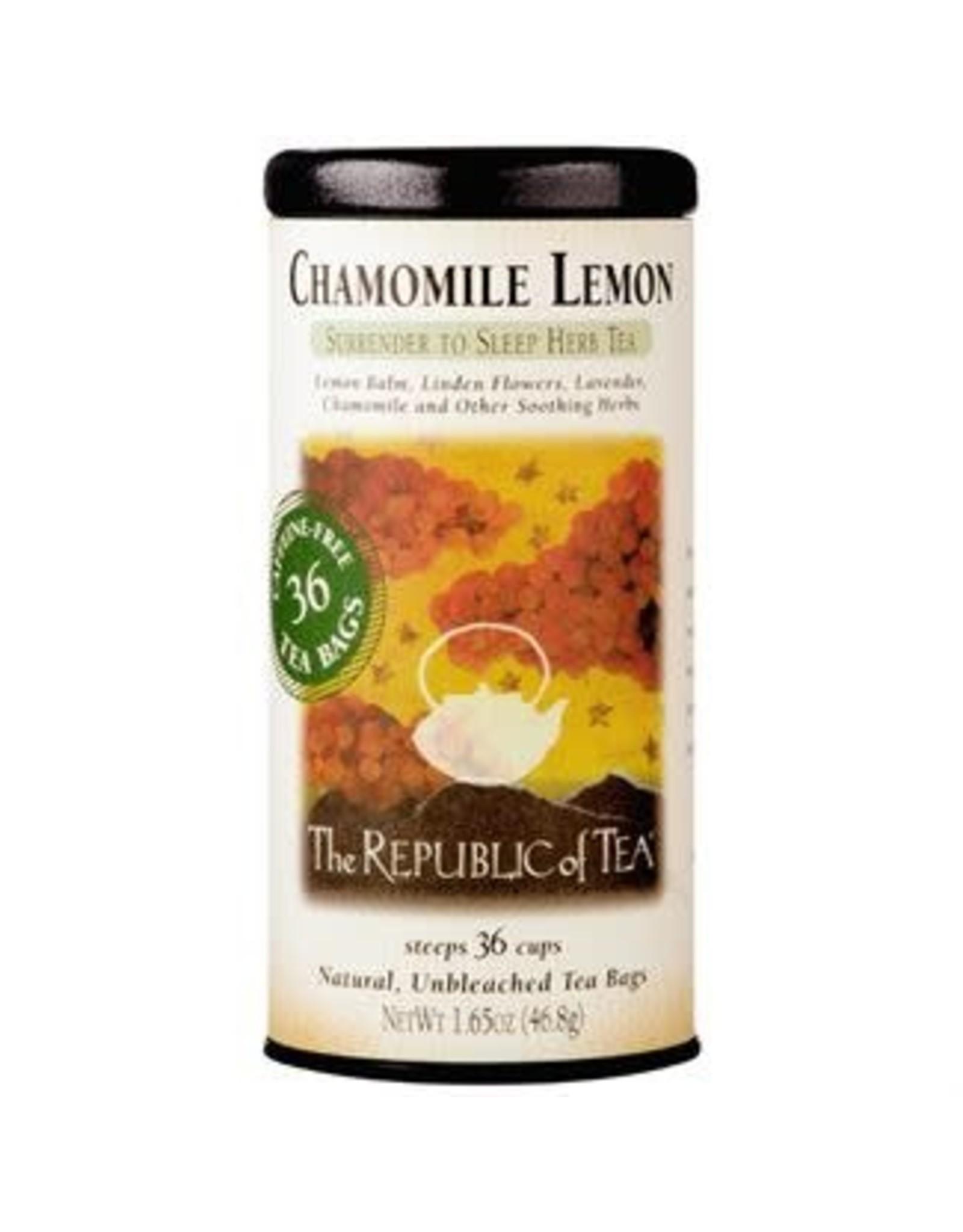 Republic of Tea CHAMOMILE LEMON TEA