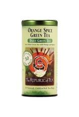 Republic of Tea ORANGE SPICE GREEN TEA