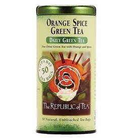 Republic of Tea ORANGE SPICE GREEN TEA